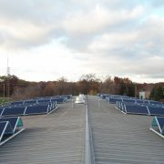 All together, there are 51 pairs of solar panels in this array.