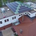 Aerial View, TB Scott Library