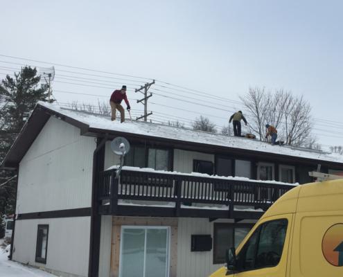 Full Spectrum Solar installation on Housing Initiatives