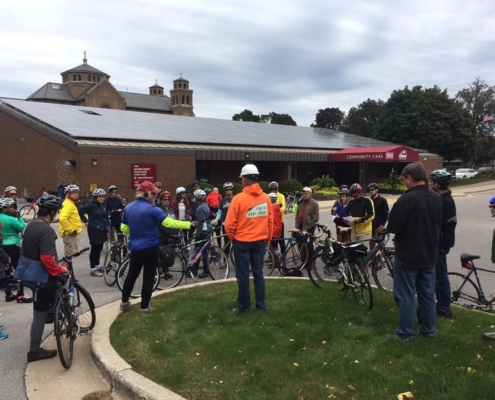 School Sisters of St. Francis - Renew Wisconsin Ride on 9/29/18 (Courtesy of Renew Wisconsin)