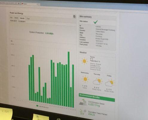 General Beverage Companies_Solaredge Screenshot