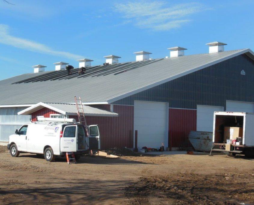 North Wind Solar installs 20kW of Solar at Breitenmoser Family Farm