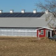 20 kW Solar Array at Breitenmoser Family Farm Installation, Merrill