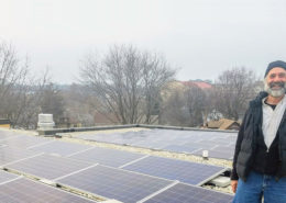 Steve and Beth Israel solar panels