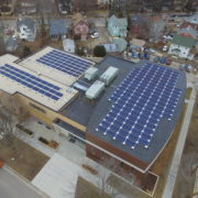 Solar array at Beth Israel
