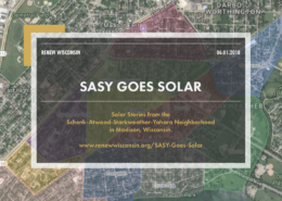 SASY Goes Solar, Solar Stories from the Schenk-Atwood-Starkweather-Yahara Neighborhood in Madison, Wisconsin.