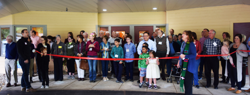 Ribbon Cutting of Solar Project at Memorial United Church of Christ (UCC)