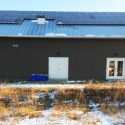 Solar panels on Art Ventures Retreat Center at Bethel Horizons, Dodgeville