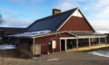 Solar panels on Bethel Horizons Prairie Center, Dodgeville