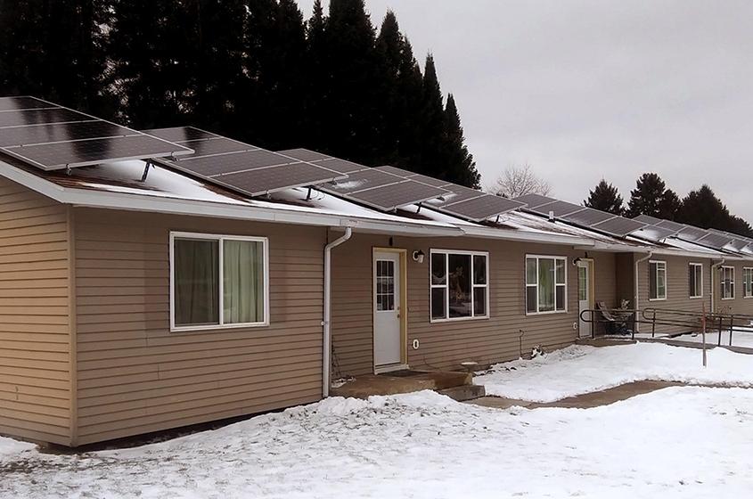 Vista Village in Hayward, part of Sawyer County Housing Authority
