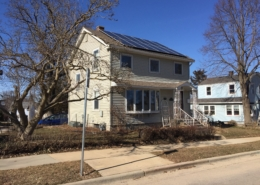 The Hein Residence with panels
