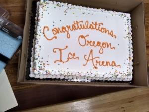Oregon Ice Arena Ribbon Cutting, June 20, 2019