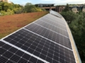 Drone view of FUS Madison solar project