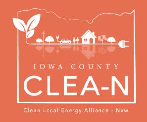 Iowa County CLEA-N Logo