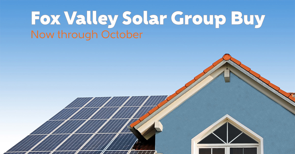Fox Valley Solar Group Buy now through October